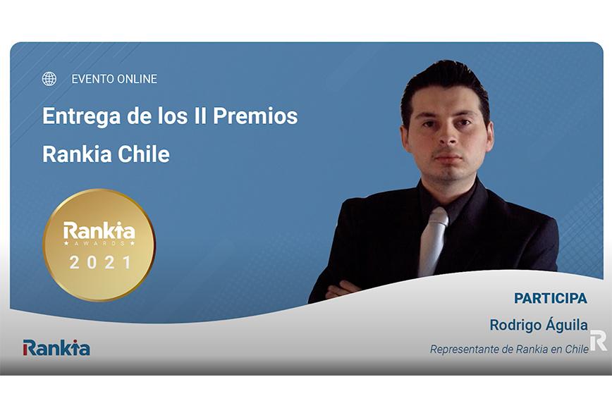 Rodrigo Aguila en Premios Rankia Chile 2021
